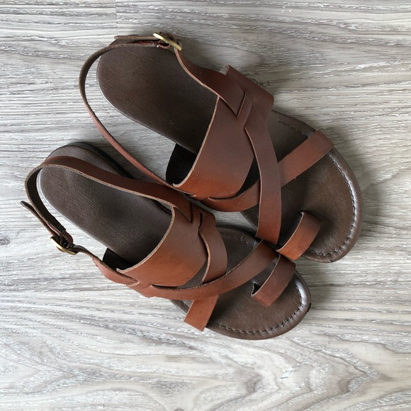 162bf2a06737 Franco Sarto Shoes - Franco Sarto Cognac Gia Sandals
